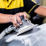 Car paint repair series : Sanding car paint